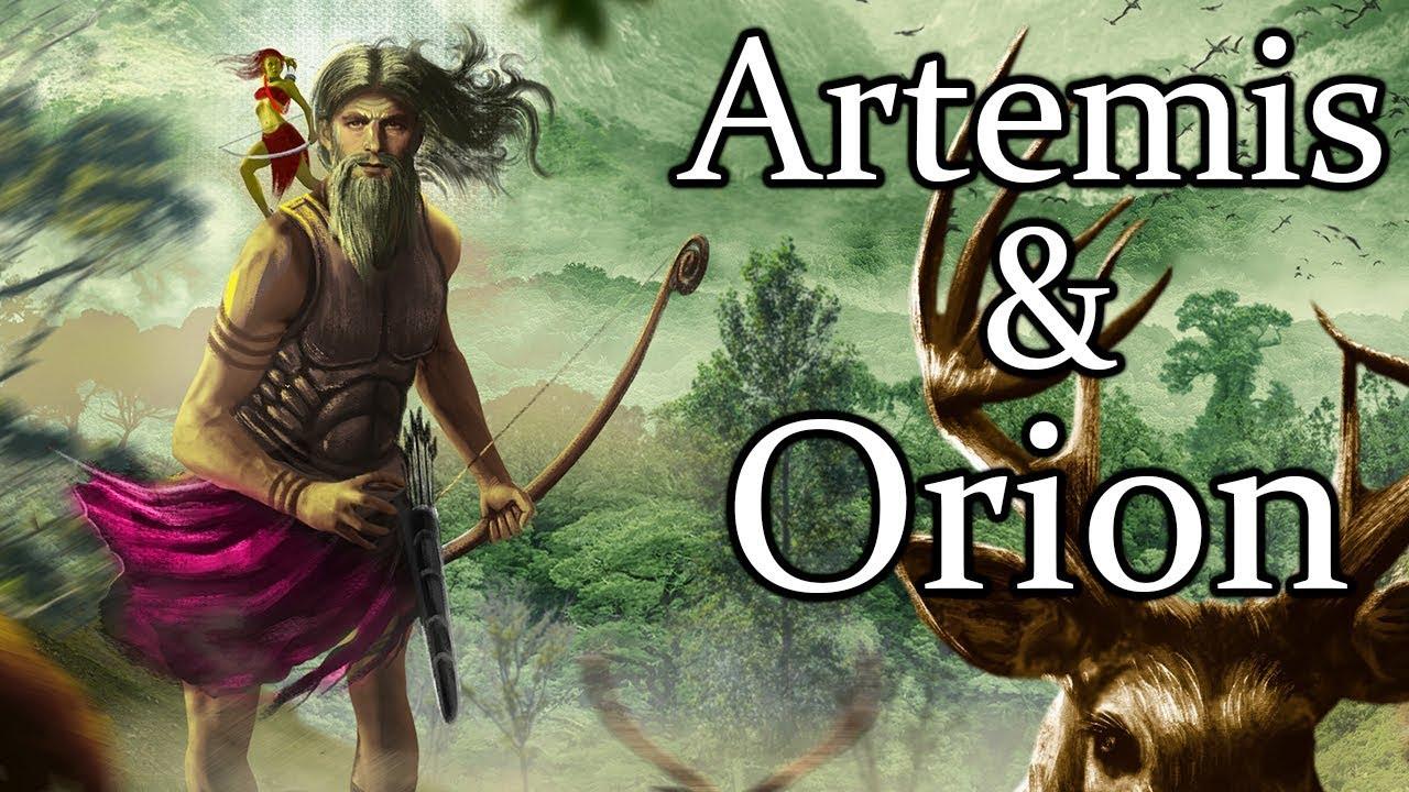Artemis & Orion: The Tragic Love Story - (Greek Mythology ...