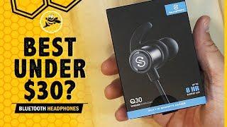Best Bluetooth Headphones Under $30: SoundPEATS Q30 REVIEW