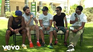 Rudimental - Festival Interview 2014