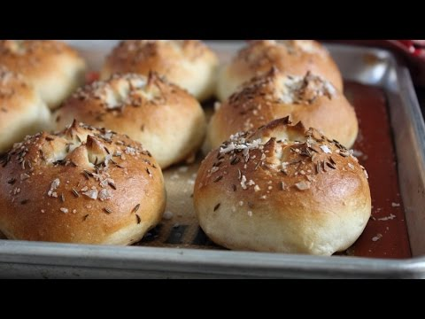 Beef on Weck - Part 1: The Weck Roll - How to Make Kummelweck Sandwich Rolls