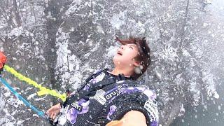 【大雪】バンジージャンプで2020年の精算してきました!!!【サプライズ】