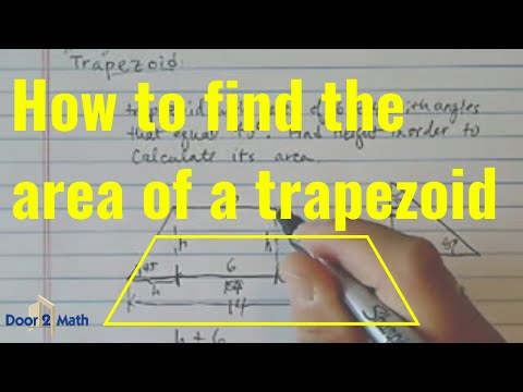 Area of trapezoid a trapezoid with bases 6 and 14 45 degrees area of trapezoid a trapezoid with bases 6 and 14 45 degrees base angle ccuart Choice Image