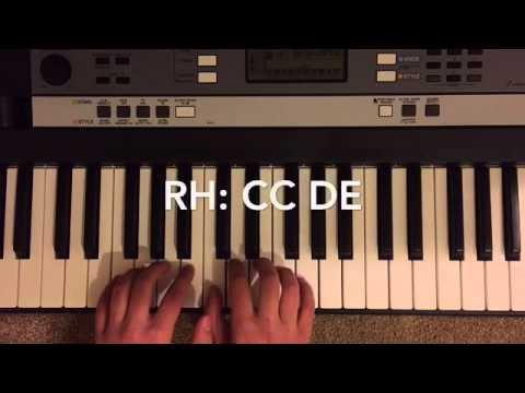 Yankee Doodle:Piano Tutorial