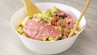 Новый куриный салат с восхитительным сливовым соусом. Рецепт от Всегда Вкусно!