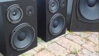 Speakers For Sale: Kenwood Towers + Yamaha NS-A636 Mint