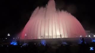 Spain.Barselona.Montjuïc.Испания.Барселона.Монжуик.Свето-музыкальный фонтан.(оригинальная музыка изменена в связи с авторским правом., 2015-04-21T04:15:17.000Z)