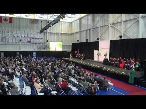 Camosun College Graduation Ceremony June 15th Afternoon