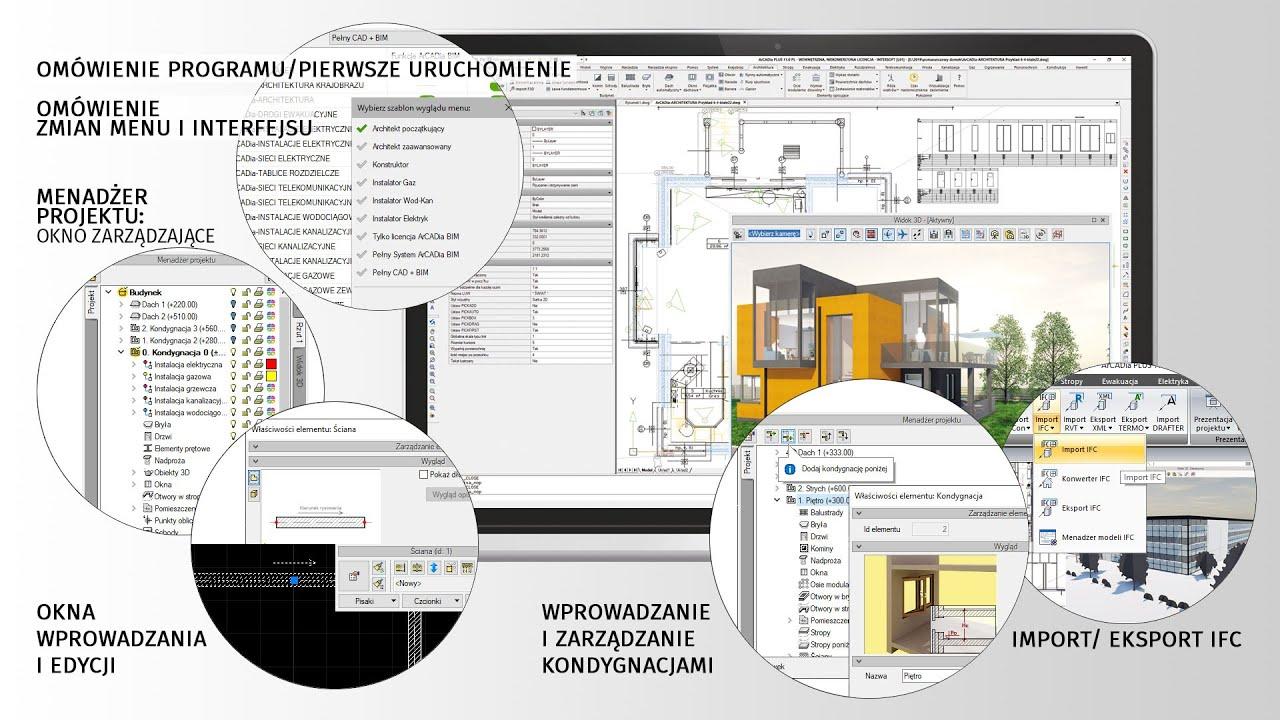 Webinarium - ArCADia BIM 11 + ARCHITEKTURA [cz.1 - Wprowadzenie]
