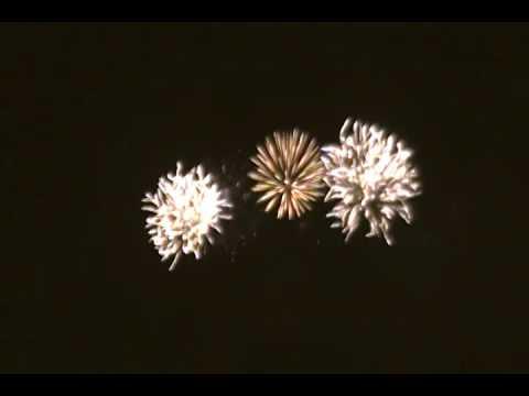 4th of July Celebration Fireworks 2016 at Ala Moana Park Hawaii