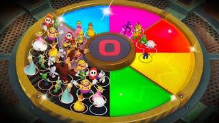 Super Mario Party MiniGames - Mario Vs Bowser Vs Yoshi Vs Donkey Kong (Master Cpu)