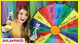 Mystery Wheel Picks My Outfits! Surprise Capsule Chix Challenge / JustJordan33
