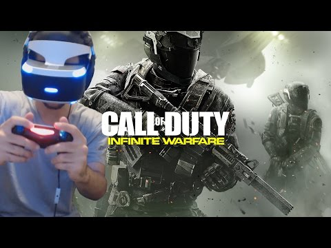 PLAYING INFINITE WARFARE ON PLAYSTATION VR!