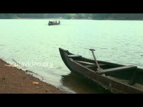 Ferry boat in Malanada, Kollam