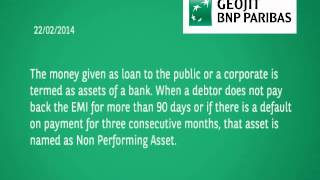 NPA's and the Banking Sector