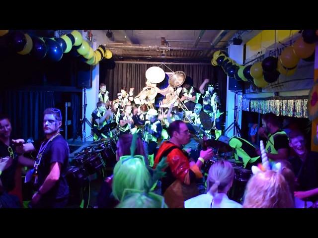 Guggenmusik Gräppälä-Schränzer 2018 - Manhattan