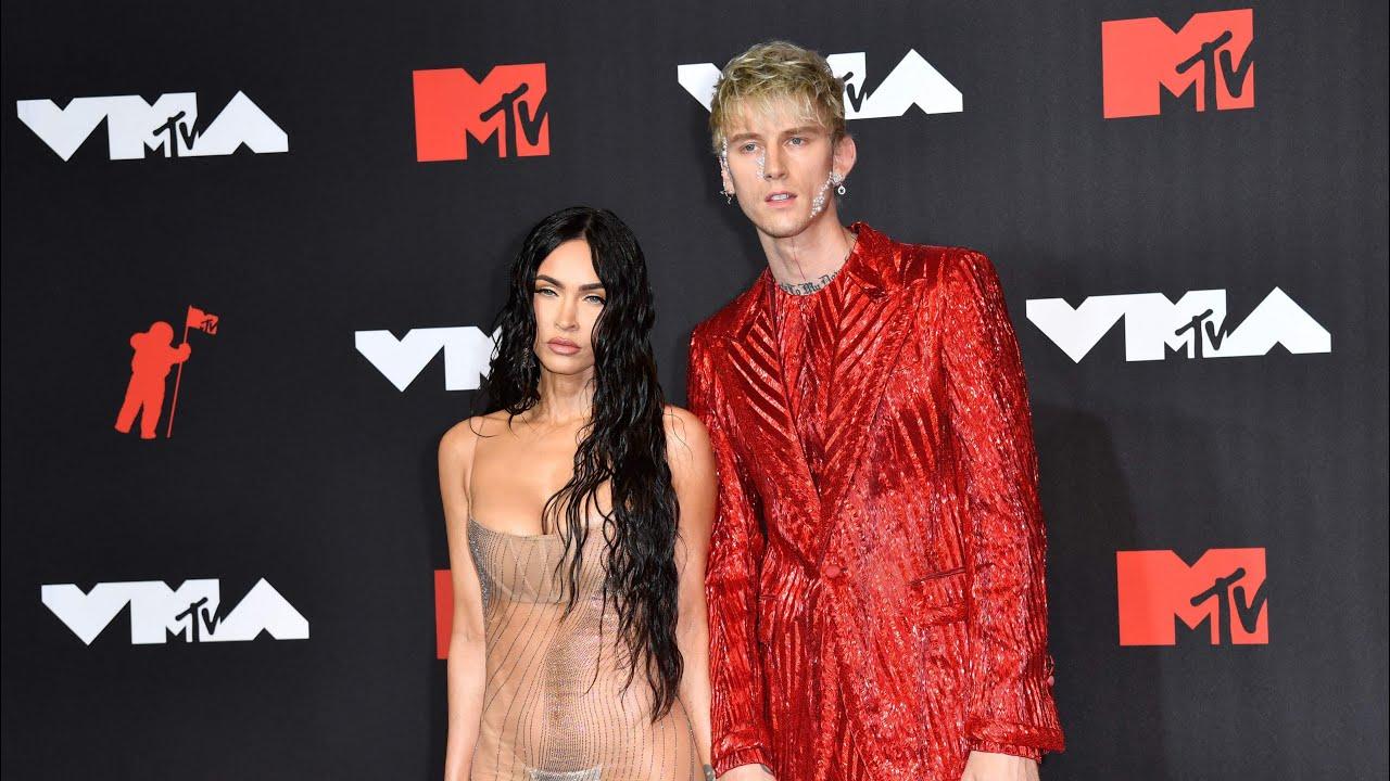 Megan Fox stuns VMA Awards red carpet in see-through outfit ...