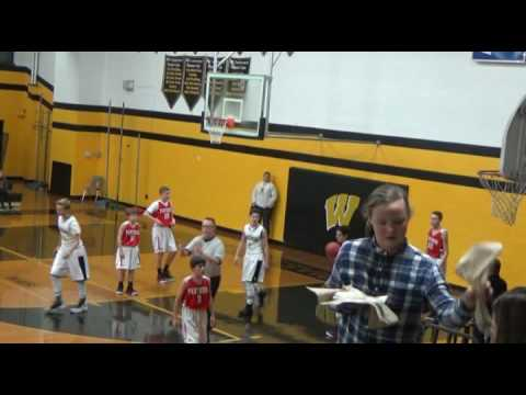 Waynesville Middle (NC) vs Macon Middle 12/15/16