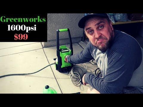 Harbor Freight Portland 1750 Psi Pressure Washer Review