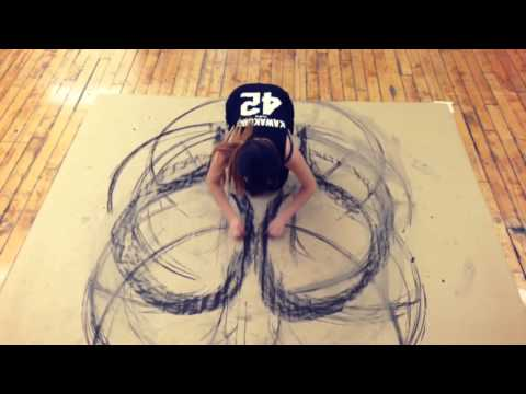 Charcoal Body Drawing