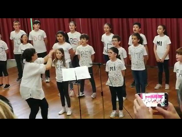 Concerto per la conclusione dell'anno scolastico 2017/18, classe IV B