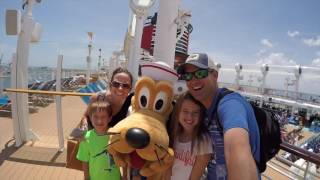 Hall Family Disney Cruise 2016