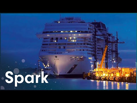 How To Build A Cruise Ship For 7 Thousand People   The Meraviglia Cruise Ship   Spark