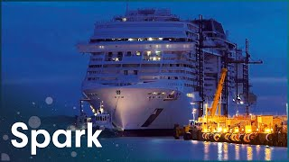 How To Build A Cruise Ship For 7 Thousand People | The Meraviglia Cruise Ship | Spark
