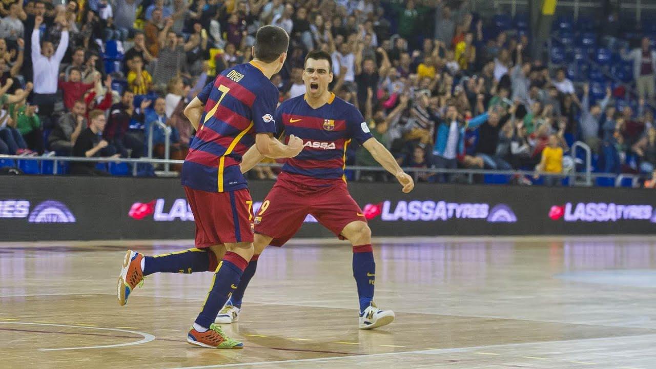 Download Highlights (LNFS): FC Barcelona Lassa - Santiago Futsal (4-2)