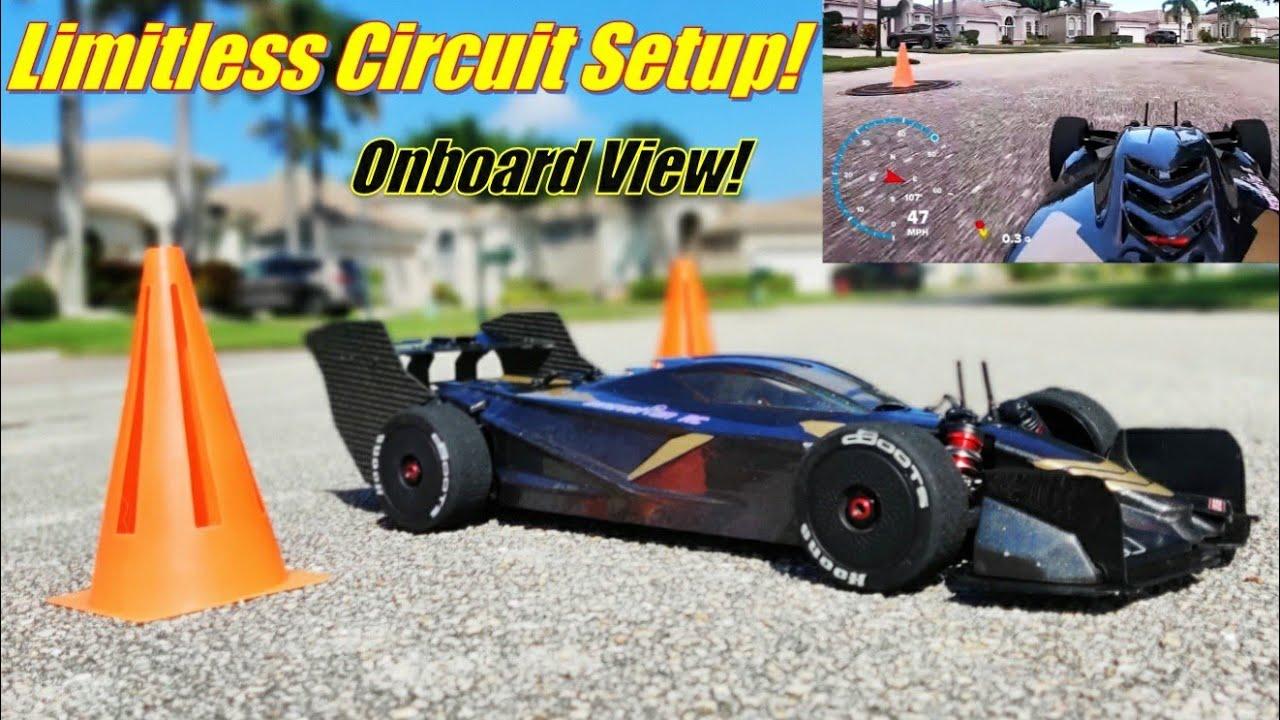 SWEET Limitless Circuit Setup! Castle 1717 Turnigy Rapid 140C