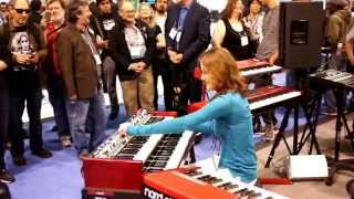 Rachel Flowers - Boston - Foreplay/Long Time @NAMM 2015