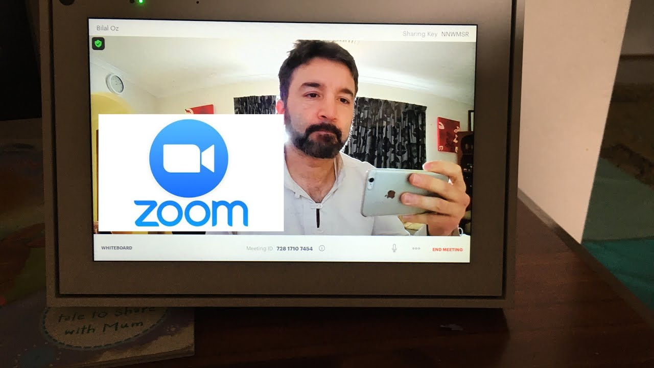 Zoom is on the Facebook portal