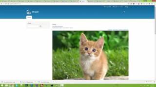 видео Установка модуля CKEditor и настройка CKFinder на Drupal 7.