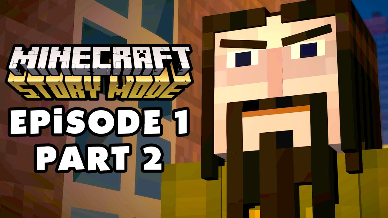 Minecraft: Story Mode - Episode 1: The Order of the Stone - Gameplay  Walkthrough Part 2 (PC)