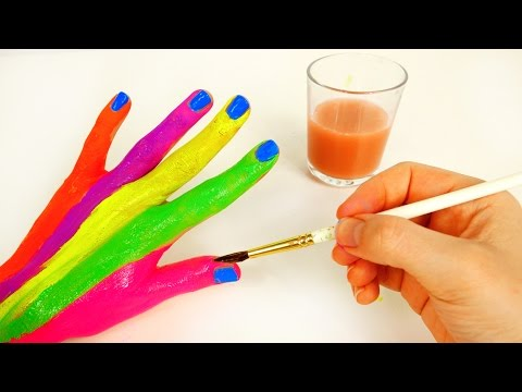 Body Painting Learning Colors Video for Children