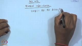 Mod-01 Lec-08 Exchange Rate Arithmetic