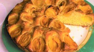 Потрясающе Вкусный Пирог к чаю! Очень Легкий Рецепт Пирога с АБРИКОСАМИ.