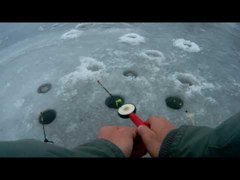 Зимняя рыбалка. Окунь на мормышку.