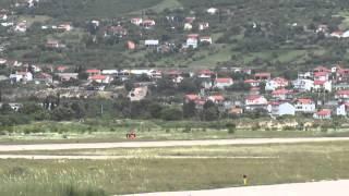 Mostar Airport landing