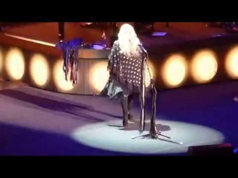 "Stevie Nicks. ""Stand Back"" MSG, NYC 12.01.16"