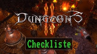 Checkliste: Dungeons 2 [ Deutsch / German ]