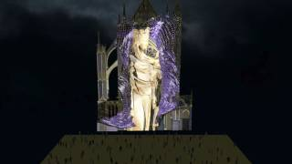 Constellations de Metz – Mapping cathédrale