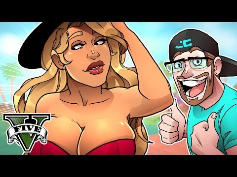 GTA 5 MY FIRST GIRLFRIEND! GTA 5 Roleplay (GTA 5 RP Multiplayer RolePlay)