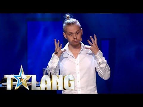 Alexander sjunger Hallelujah efter han ätit superhet chili i Talang 2018 - Talang (TV4)