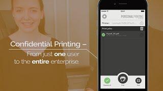 Sicheres Pull Printing mit QR-Code, PIN oder Smartcard