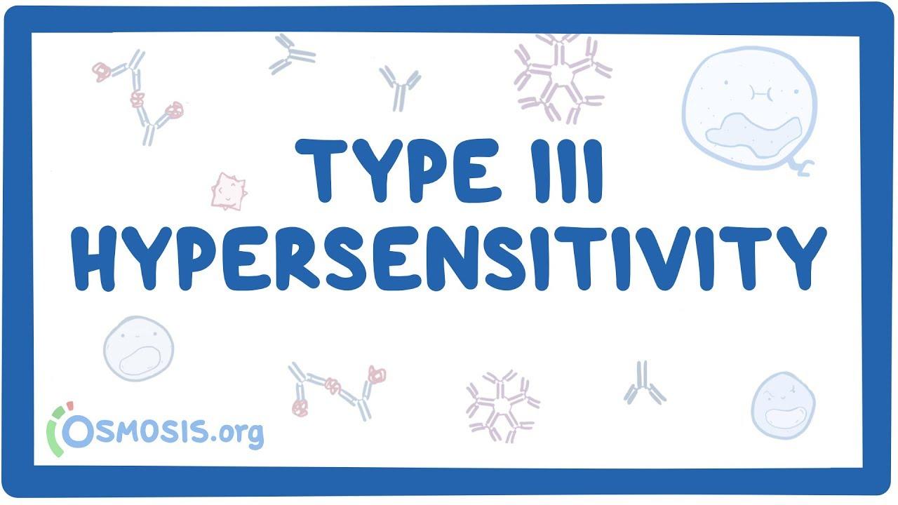 Type Iii Hypersensitivity Immune Complex Mediated Causes