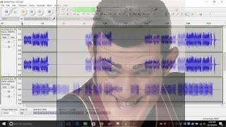 We Are Number One but all the stems are played in audacity