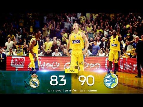 Euroleague Game 6: Maccabi FOX Tel Aviv 90 - Real Madrid 83