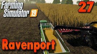 FS19 Timelapse - Ravenport #27 | Mega Corn Harvest!