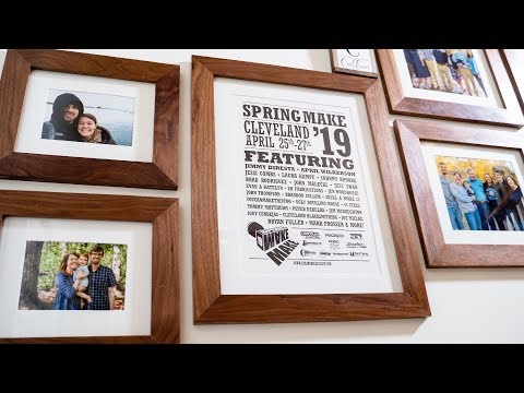 How To Make Custom Picture Frames For A Gallery Wall