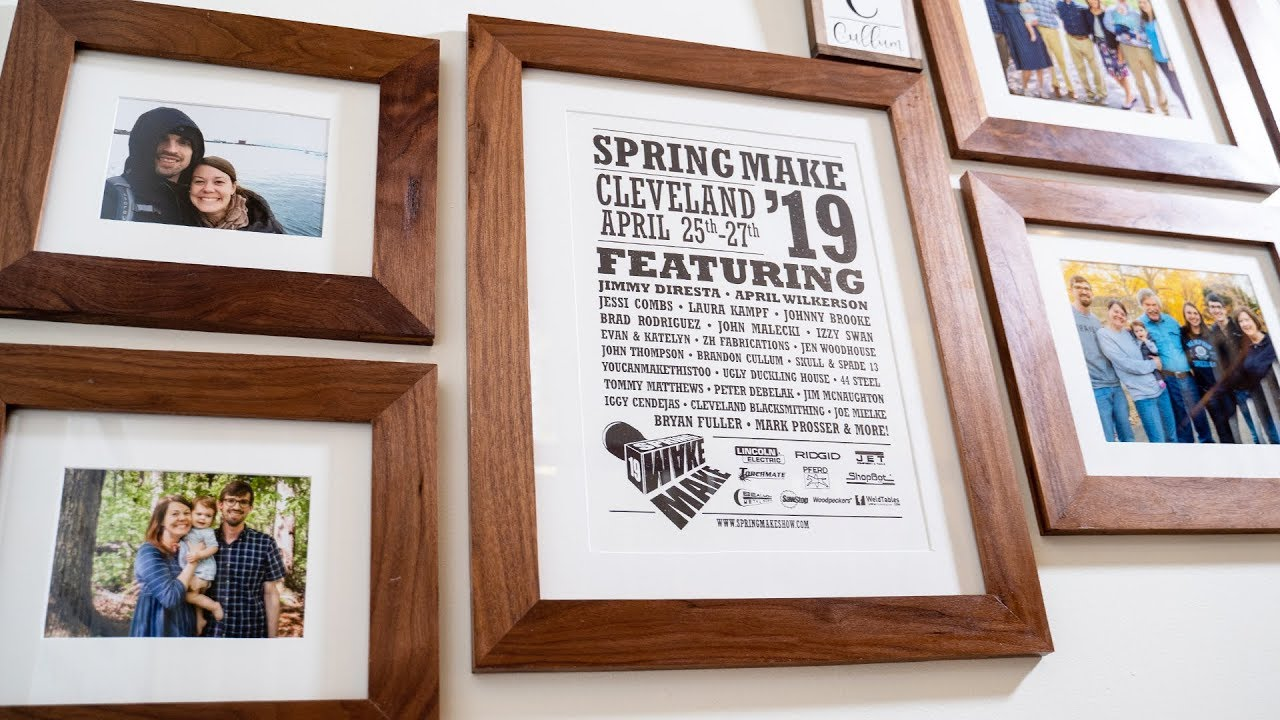 How To Make Custom Picture Frames For A Gallery Wall You
